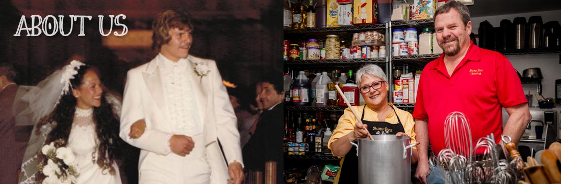 About Todd and Jan Ostrom and Busy Bee Catering